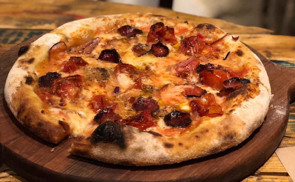 Pizza Cariocando no Rio no Zagga Pizza Bar