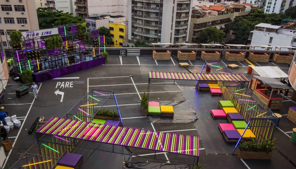Uma das edições do Tijuca High Line