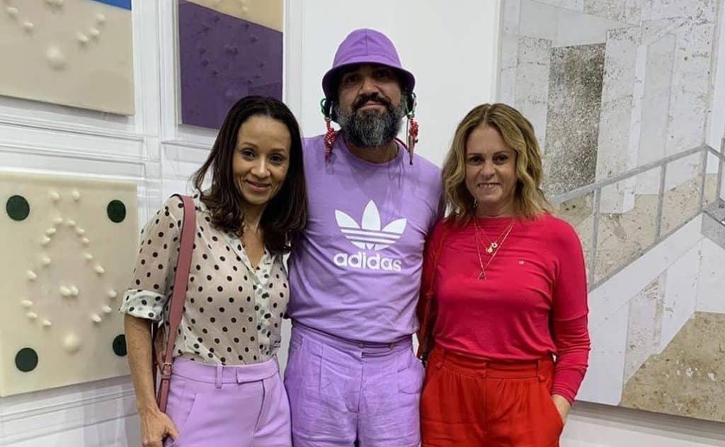 Alessandra Marins, Beto Silva e Aninha Costa