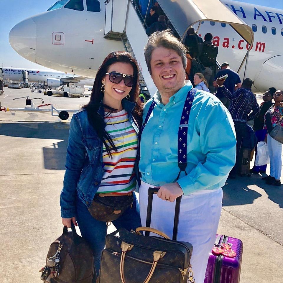 Bruna e Claudio Castro a caminho de Zanzibar
