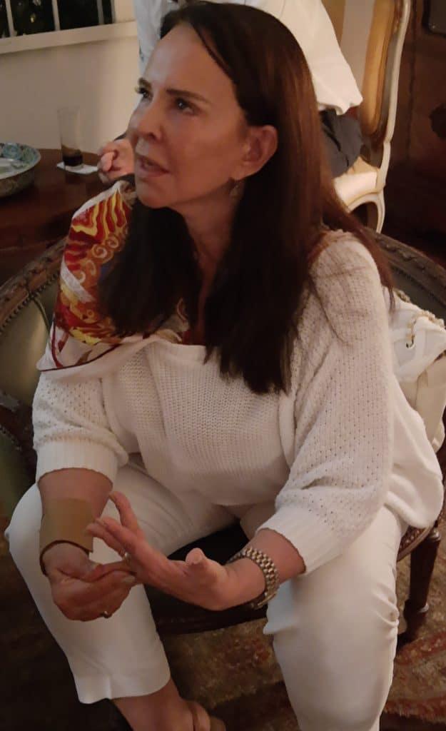 Clélia Apostel, em temporada carioca