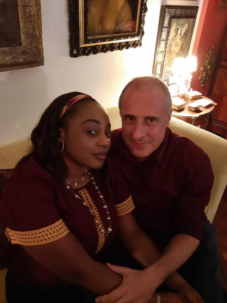 Os Cônsules da Bélgica no Rio de Janeiro Jean-Paul e Rachel Charlier