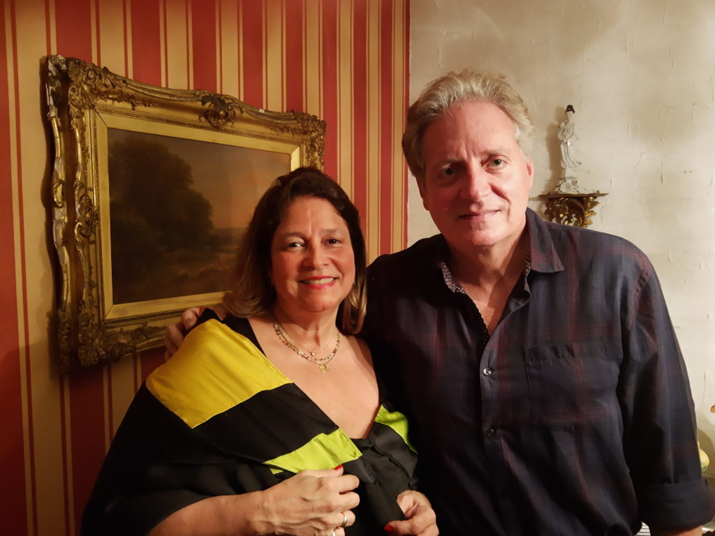Celeste Pedroso e Mário Rosenthal