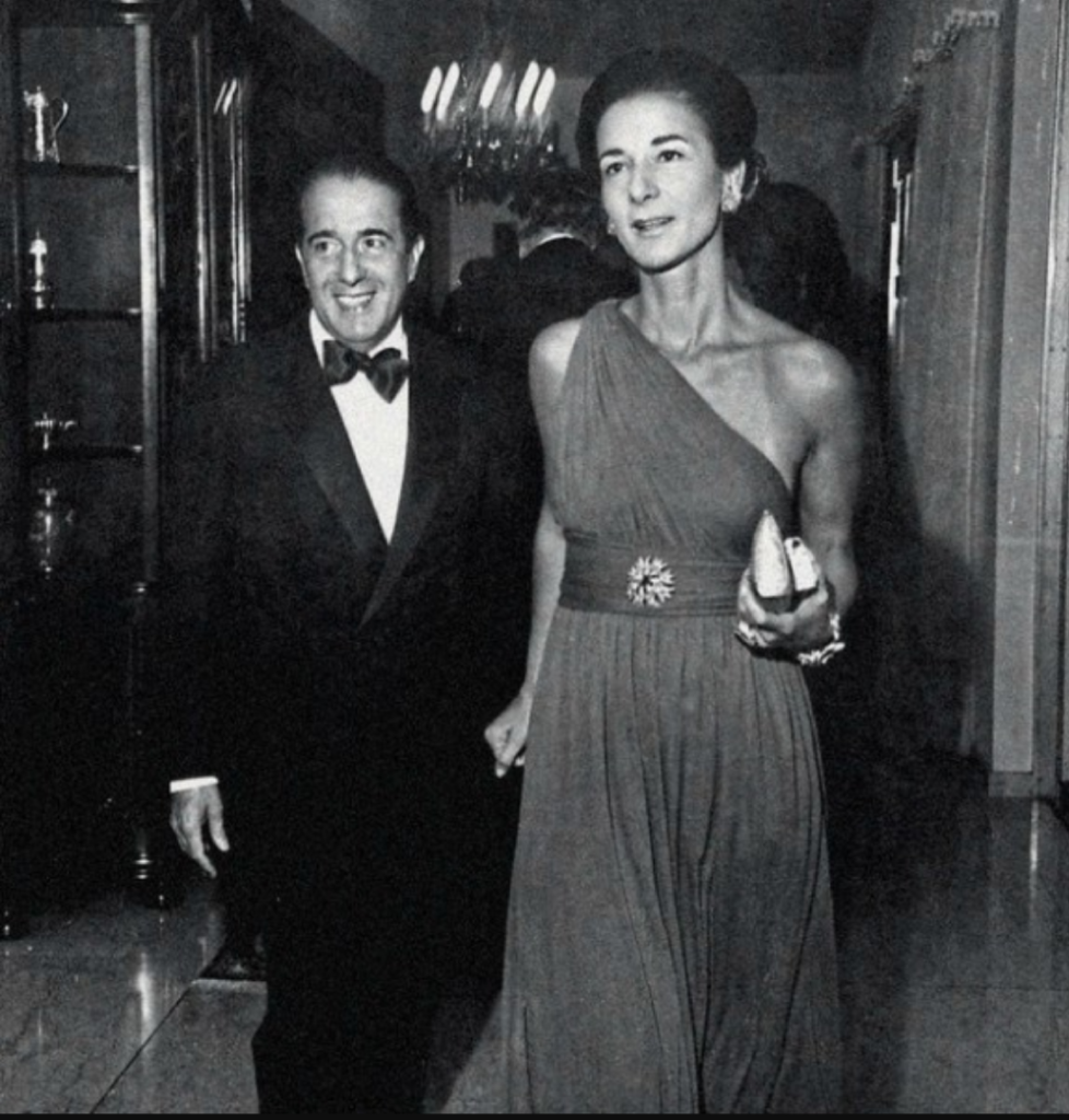Walter e Elisinha Moreira Salles